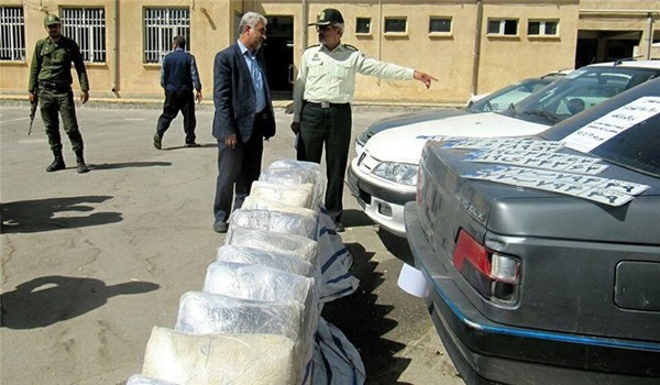 460kg of Illicit Drugs Confiscated in Central Iran