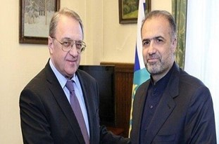 Iran, Russia ِDiscuss Syria's Developments