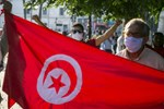 Demonstration in Tunisia Denouncing Normalization of United Arab Emirates, Bahrain