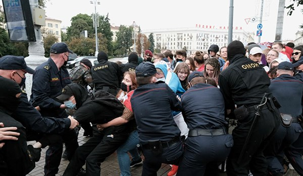 Russian Foreign Intelligence Service Says US Plays Key Role in Belarus Unrest