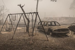 US: Oregon Wildfires Leave Trail of Devastation in Town of Gates