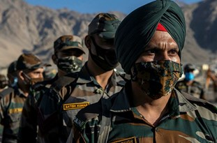 DM Warns No Force On Earth Could Stop the Indian Army from Patrolling Ladakh Border