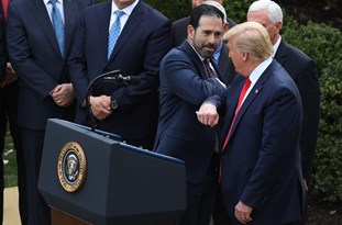 Ex-WH Aide Claims Trump Said Coronavirus Was Good Because He Didn't Have Shake Hands with 'Disgusting People'