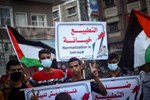 Gaza: Palestinians Protest Against Disputed Israel-UAE-Bahrain Deal