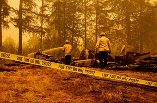 Documents Show US Officials Baselessly Linked 'Antifa' to Arson Before Wildfires