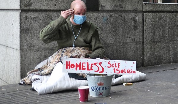 Experts Warn UK Distancing Measures Could Leave Homeless People Out in Cold