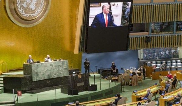 Trump Accused of Turning UN Speech into Election Rally After Railing Aainst China over COVID