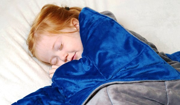Weighted Blankets Can Decrease Insomnia Severity