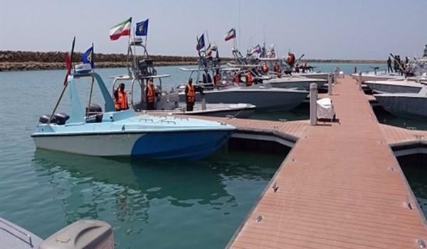 IRGC Commander Inaugurates Iran's New Naval Base East of Strait of Hormuz