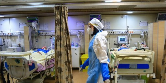 Official: Over 1/3 of Tehran's Beds Occupied by Coronavirus Patients