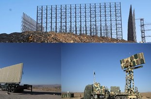 Iran's Indigenized Phased-Array Radars Trace Hypothetical Enemy Flying Targets in Wargames
